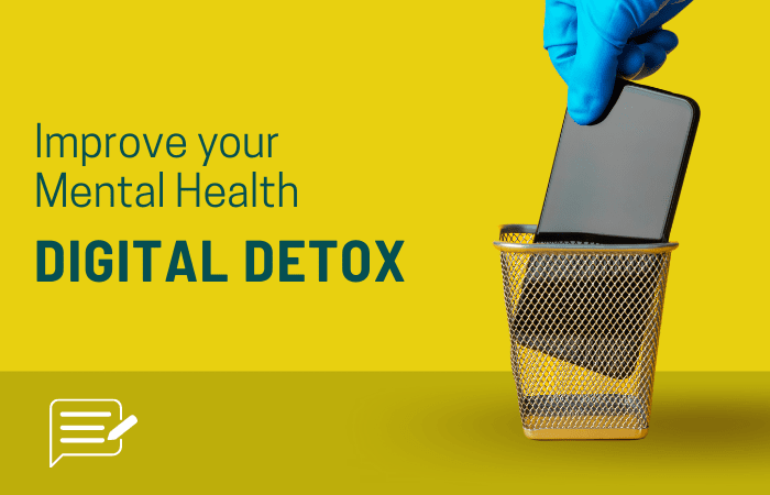 learn about digital detox and improve your mental health with these effective way